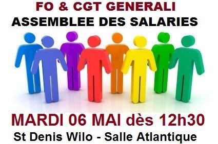 FO et CGT Assemblée des salariés 11 02 14