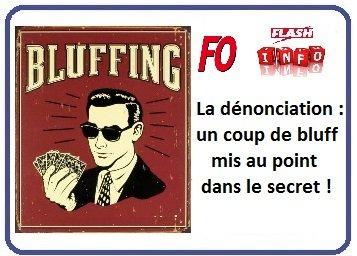 LOGO FO DENONCIATION BLUFF