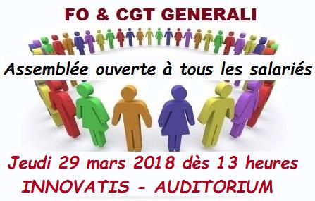FO et CGT AG Salariés 29 03 18
