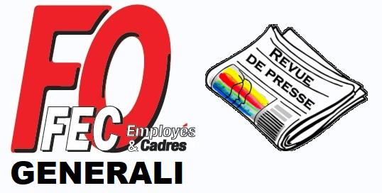 FO Generali : Revue de presse suite à la conférence de presse FEC-FO Assurances du 7 juin  dans 0 - Accord Temps Travail fo-generali-revue-de-presse