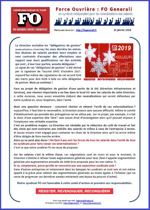 Tract FO Generali : Délégations d'activités & Salaires  dans 01 - Flash Info tract-fo-generali-15-01-2019