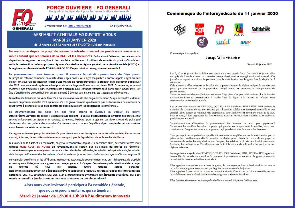 Tract FO Generali - Retraites AG FO ouverte à tous le 21/01/20 dans 1 - Revendications tract-fo-generali-14-01-20-ag-retraites